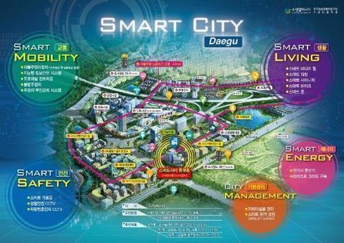 대구시, 국토부 '스마트도시 우수 도시' 인증 획득