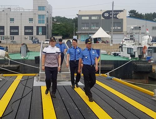 채광철 목포해경서장, 우범 항·포구 치안현장'점검