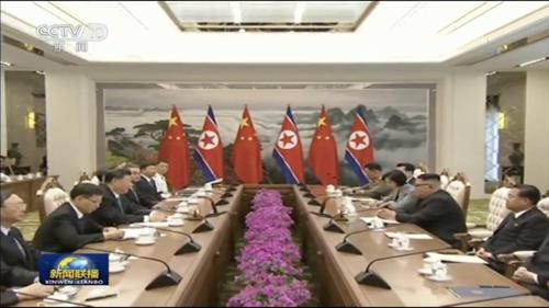 中, 북중 정상회담 내용 이례적 실시간 보도…미국 의식한 듯