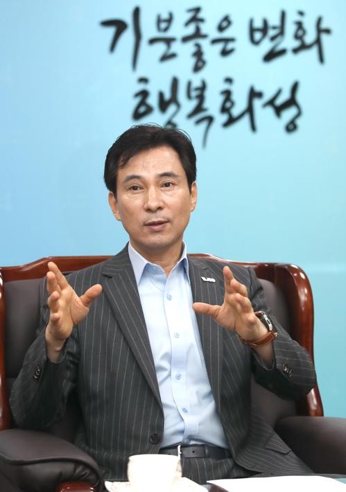 """[인터뷰] 서철모 화성시장 """"시민과 대화, 소통의 가치 실현"""""""