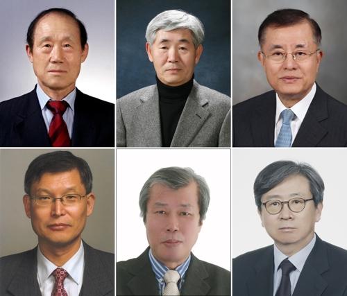 박용운·김수일·유정열 교수 등 6명, 학술원 회원 선출