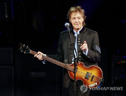 비틀스 멤버 폴 매카트니, 생애 첫 뮤지컬 음악 내놓는다