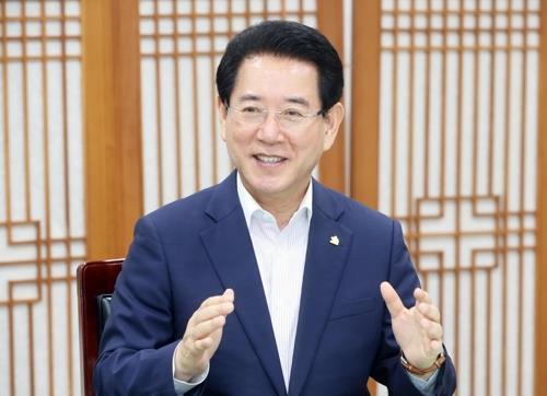 """""""일본 수출규제 피해없도록"""" 김영록 전남지사, 순천서 대책 논의"""