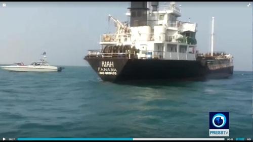 이란, 구조했다던 외국유조선 '석유 밀수' 혐의 억류(종합2보)