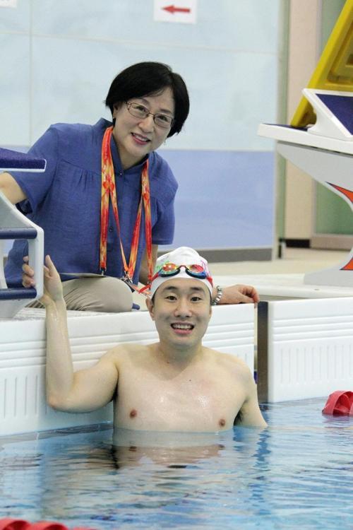 [사람들] 세계마스터즈수영대회 출전 국내 유일 장애인 이동현 씨