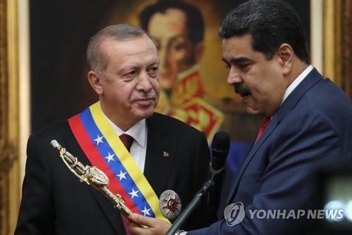 터키, 미국의 베네수엘라 경제제재에 반발