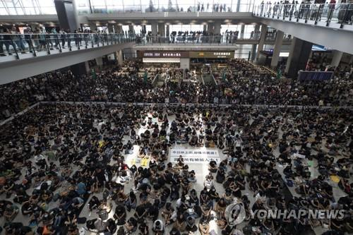 """메르켈, 홍콩 시위 사태에 """"표현의 자유 존중하고 대화해야"""""""