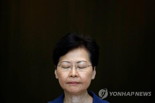 대만 학자, 中 홍콩시위 종료위한 캐리 람 '희생양' 가능성 제기