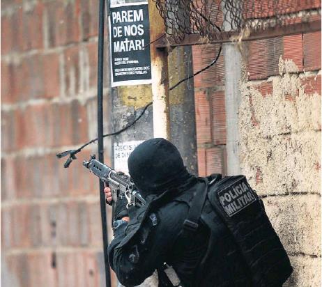 브라질 리우 경찰 작전 중 총격 사망 주민 급증…1주일새 15명