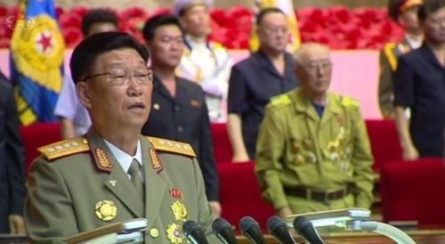 김수길 등 북한대표단, 중국 방문…군사분야 연대 강화(종합)