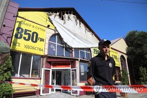 우크라이나 호텔서 화재…8명 사망·10명 부상