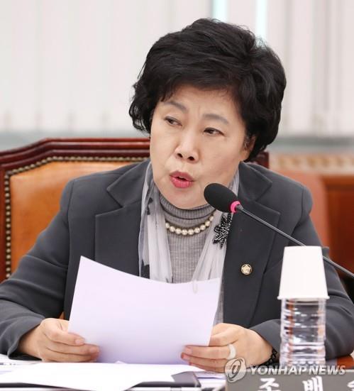 평화당 새 원내대표에 조배숙 의원
