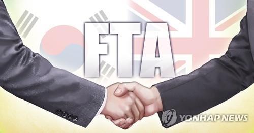 영국과 양자 FTA 서명…두달후 노딜 브렉시트시 교역 '안전판'
