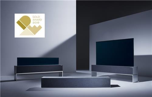 LG전자 롤러블TV, IDEA 최고상…세계 3대 디자인상 석권
