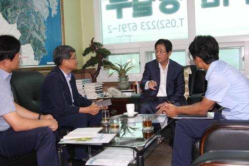 [지방정가 브리핑] 강길부 의원, 울산다운2 공공주택지구 사업 점검