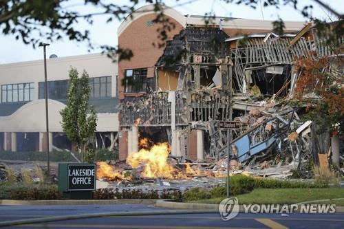 메릴랜드주 쇼핑센터 건물 가스 폭발사고, 부상자 없어