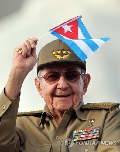 中, 건국 70주년 유공자에 쿠바 카스트로 총서기 선정