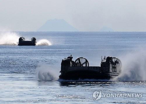 미일 지대함 전투 훈련 일본서 첫 실시…중국 견제