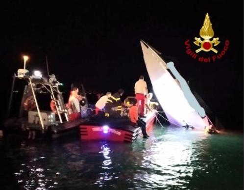 고속레이스 벌이던 모터보트 伊 베네치아서 충돌사고…4명 사상