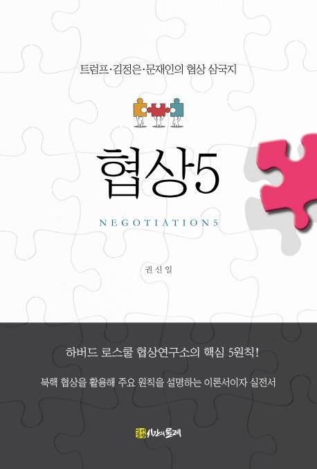 하버드협상硏 5대 원칙으로 본 북핵 협상 추이