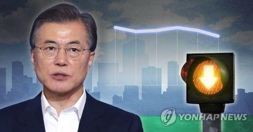 '조국 후폭풍'에 중도층·20대 이탈 '뚜렷'…수도권 지지층 흔들(종합)