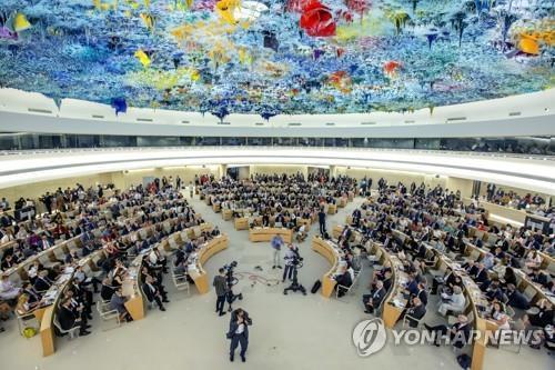 유엔, '이산가족 문제 협력' 北 인권보고서 채택