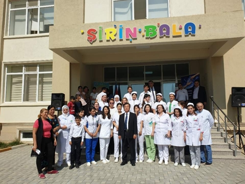 주아제르바이잔 한국대사관, 실향민 지원행사 개최