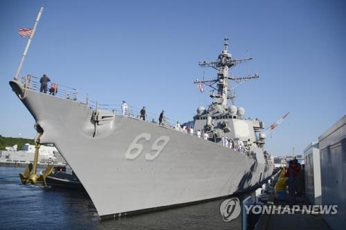 美, 북한·이란의 미사일 공격 대비 이지스함 대폭 증설 계획