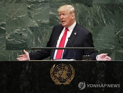 트럼프, 유엔총회때 연쇄 정상외교…韓 등 10여개국 정상과 회담