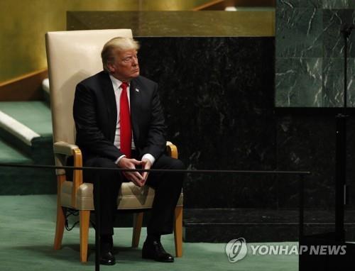 유엔총회 무대 오르는 트럼프, 북한·이란 등 외교현안 산적