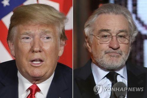 """할리우드도 탄핵지지 동참하나…드니로 """"트럼프 탄핵당해야"""""""