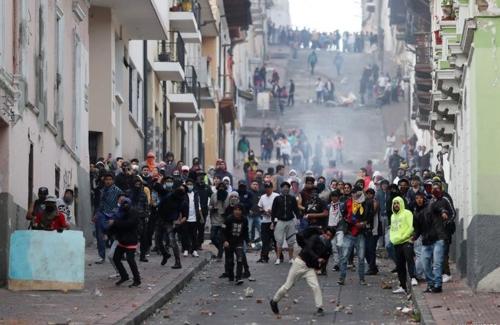 남미공동시장·남미포럼, 에콰도르 정부 지지…시위 중단 촉구