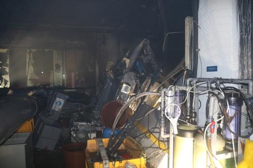 인천 고잔동 금속 도금공장서 불…890만원 피해