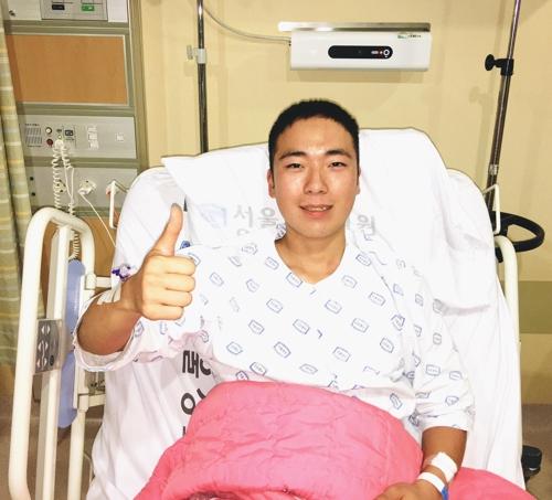 백혈병 앓는 누나 위해 골수 이식 수술받은 해병대원