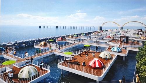 내년 10월 울산 앞바다에 해상 캠핑장 생긴다