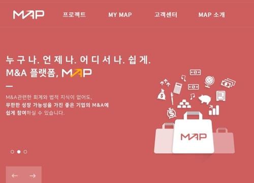 지비시코리아, 블록체인 기반 M&A 플랫폼 '맵' 출시