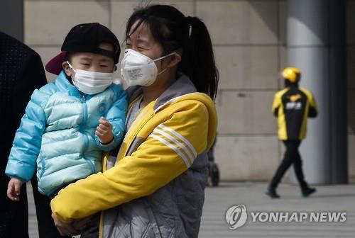 베이징 심각한 대기 오염으로 유산 위험도 커져