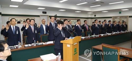 [국감현장] 교육위, 호남 국립대 국감서 교수 일탈·비위 '질타'