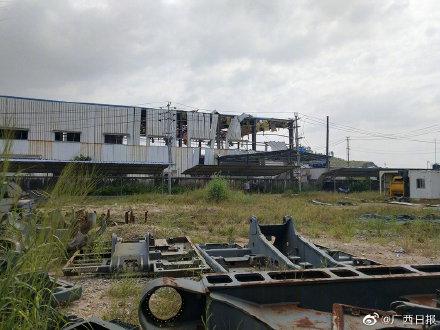 중국 광시 화학공장 폭발…10명 사상