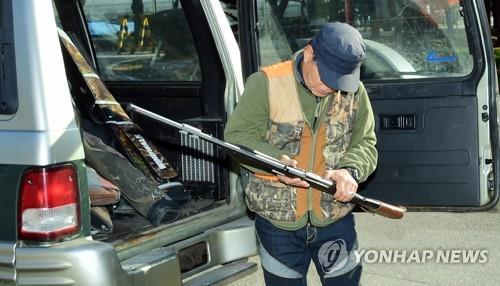 파주시, 엽사·군인 등 52명 동원 야생멧돼지 총기 포획