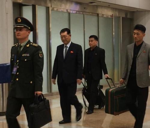 北인민무력성 부상, 中안보포럼 참석차 베이징 도착(종합)
