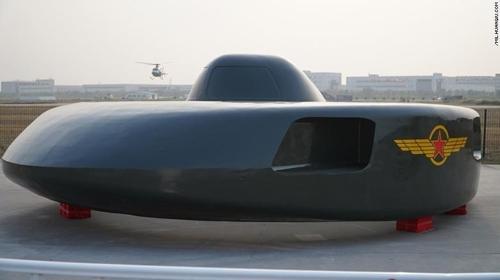 中 엑스포에 UFO 닮은 '원반형 헬기' 시제품 등장