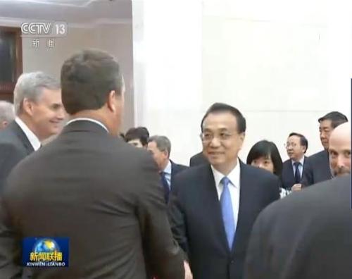 """리커창, 미중무역위 대표단에 """"중국 개방의 문 더 커질 것"""""""