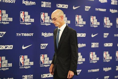 """NBA 총재, 中정부 '휴스턴 단장 해고' 요구…中 """"사실무근"""""""