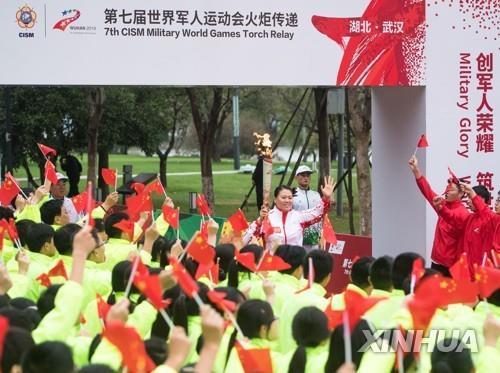 중국서 세계군인체육대회 개막…시진핑 개막식 참석