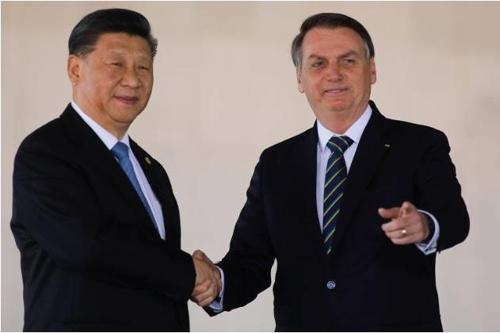 中, 브라질에 116조원 쏜다…시진핑, 대규모 금융지원 제의