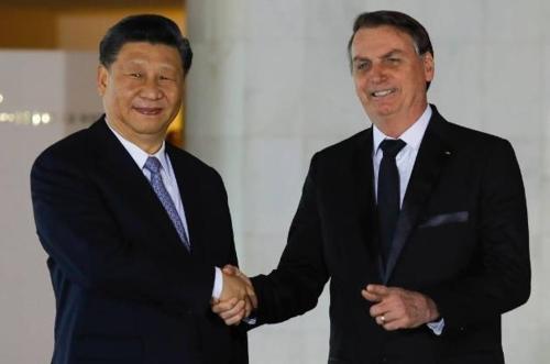 브라질 보우소나루, 트럼프와 거리 두고 시진핑에 다가서나