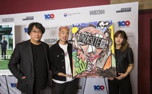 봉준호 '기생충' 美독립영화제도 주목…국제영화부문 후보지명