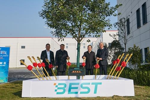 SK이노베이션 '첫 글로벌 배터리 거점' 中 창저우 공장 준공