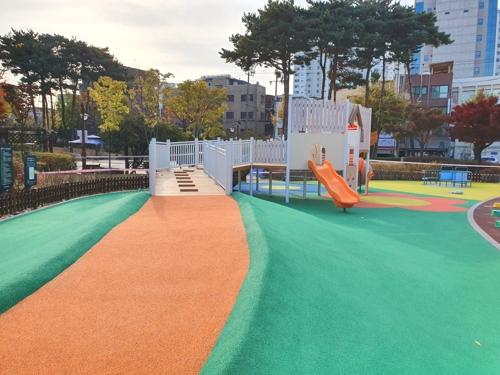서울 당산공원에 장애 아동도 함께 노는 놀이터 조성